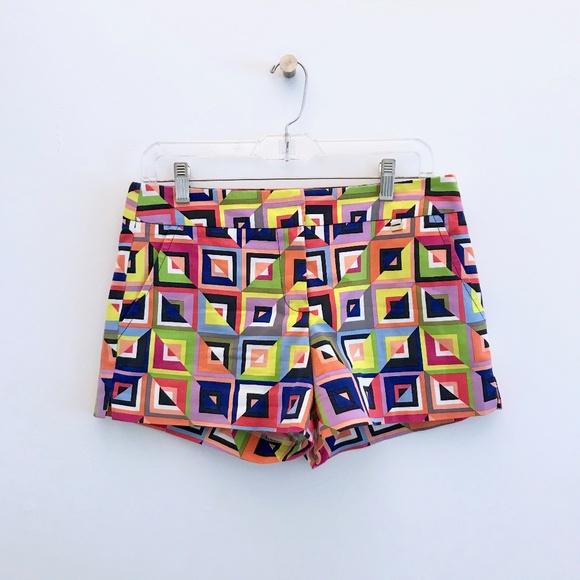 Trina Turk Pants - Trina Turk Corbin 2 Shorts Multicolor Squares